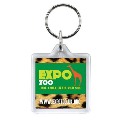 Image of Square Keyring