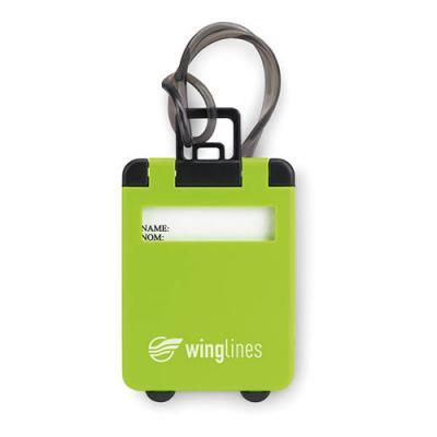 Image of Luggage tags plastic