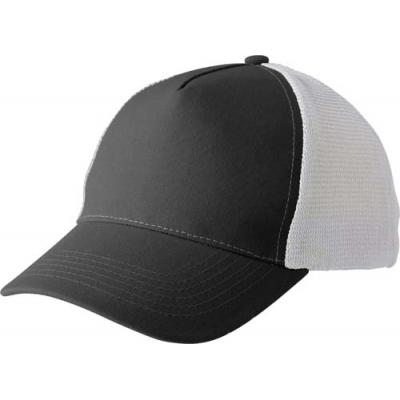 Image of Polyester baseball cap with five panels