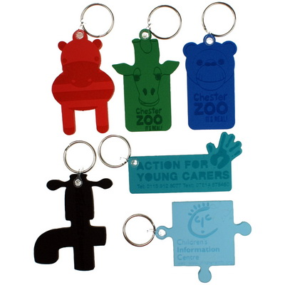 Image of Foam Embossed Keyring