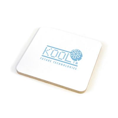 Image of Square Cork Coloured Coaster