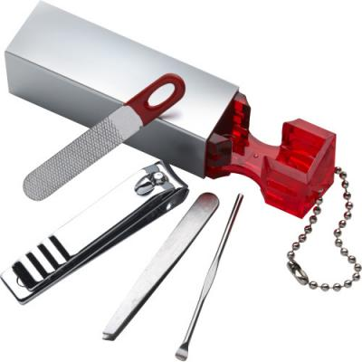 Image of Four piece ABS manicure set