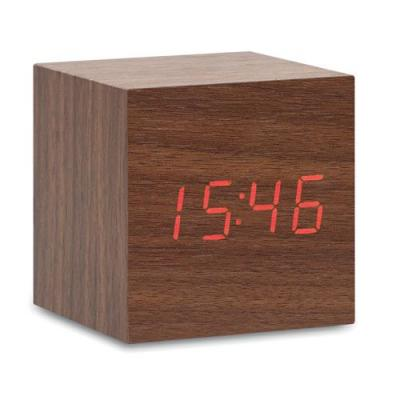Image of LED clock in MDF