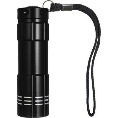 Image of Plastic torch with nine LED bulbs