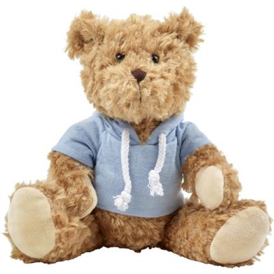 Image of Plush teddy bear with hoodie